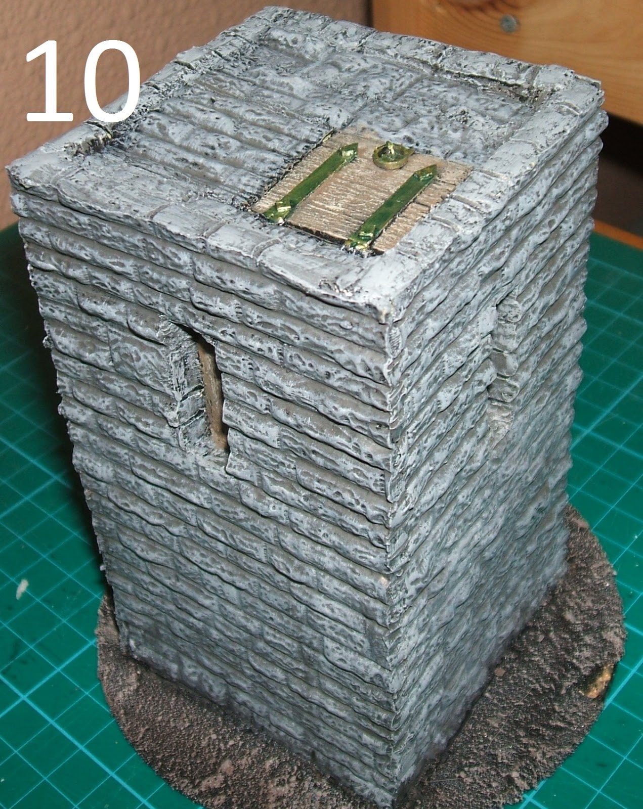 Terrain Tutorial Stone Watchtower Wargaming Hub
