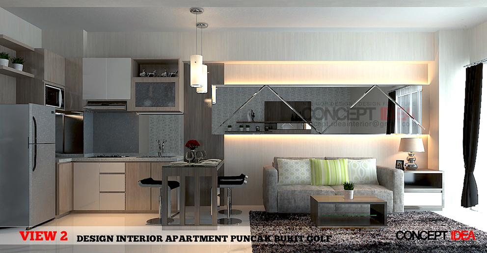 Apartment Puncak Bukit Golf Surabaya By Concept Ideainterior INTERIOR DESIGN APARTMENT