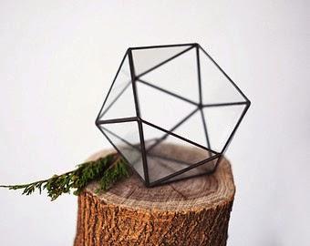 terrarium acier verre etsy