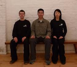 Mit Meister Chen Bing 2012