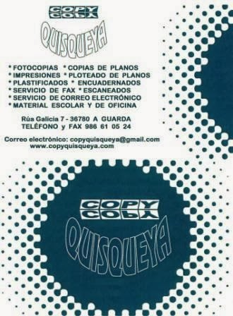 COPY QUISQUEYA: RÚA DE GALICIA, 7 (A GUARDA)