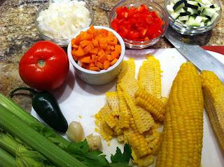 uncle ben's wholegrain corn & tomato rice salad