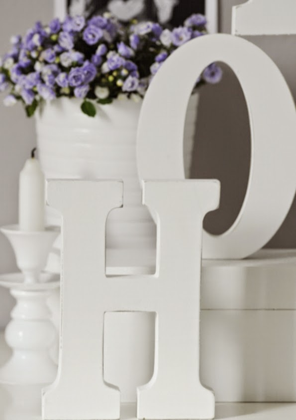 Litery dekoracyjne HOME