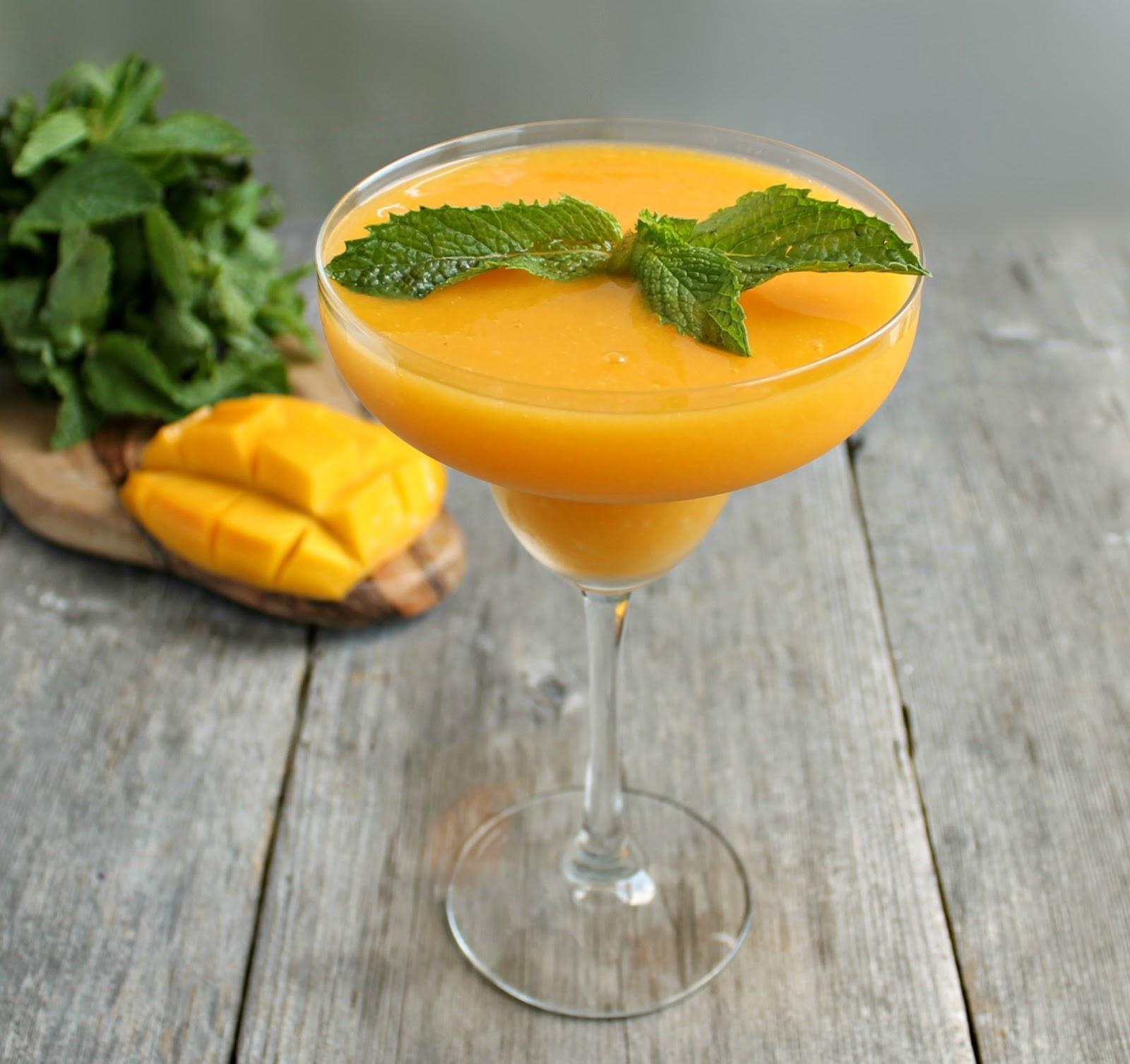 Hungry Couple: Frozen Mango Daiquiri