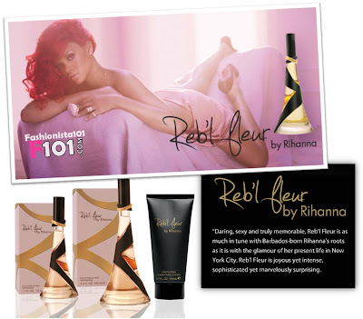 Rihanna New Fragrance - Reb'l Fleur