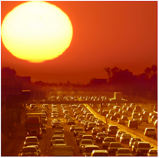Extreme heat, summer, sun, heat stroke, sun bake, heat wave