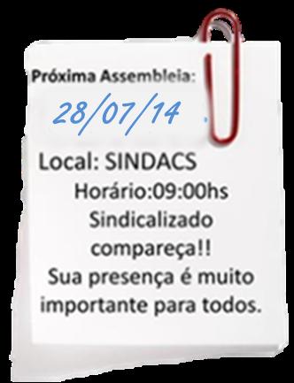 Assembleia SINDACS