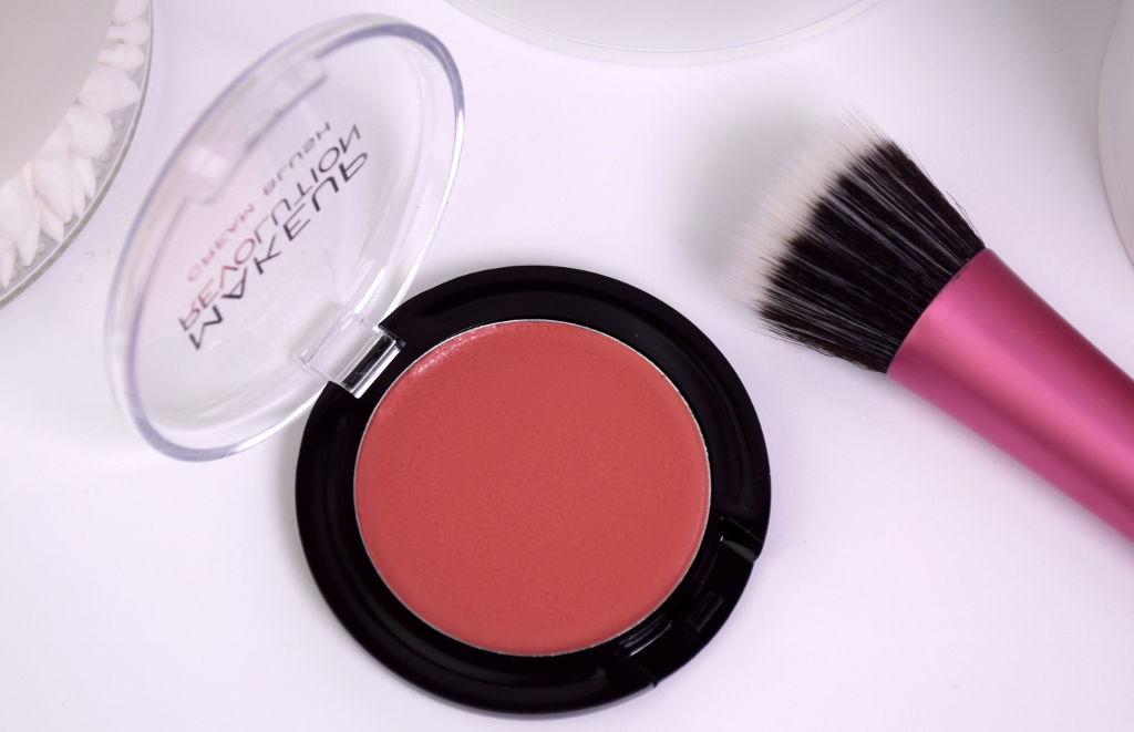 Makeup Revolution 'Rose Cream' Cream Blusher Review