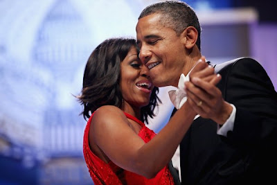 Obamas Dancing at 2013 Inaugural Ball