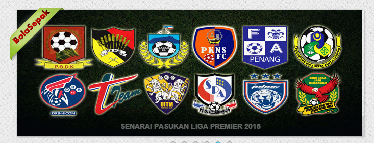 pasukan liga perdana 2015