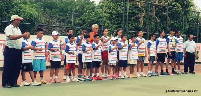 Foto RemajaTenis JAKARTA 48 TH 2015