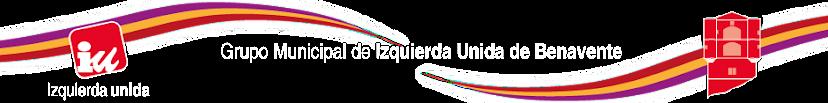 Blog Grupo Municipal de Izquierda Unida de Benavente