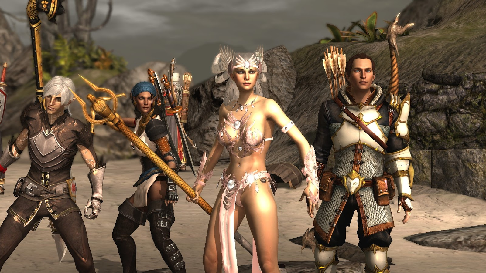 Pictures of nudity in dragon age exploited tube