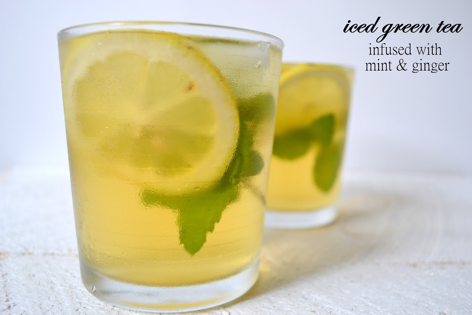 Infused green tea