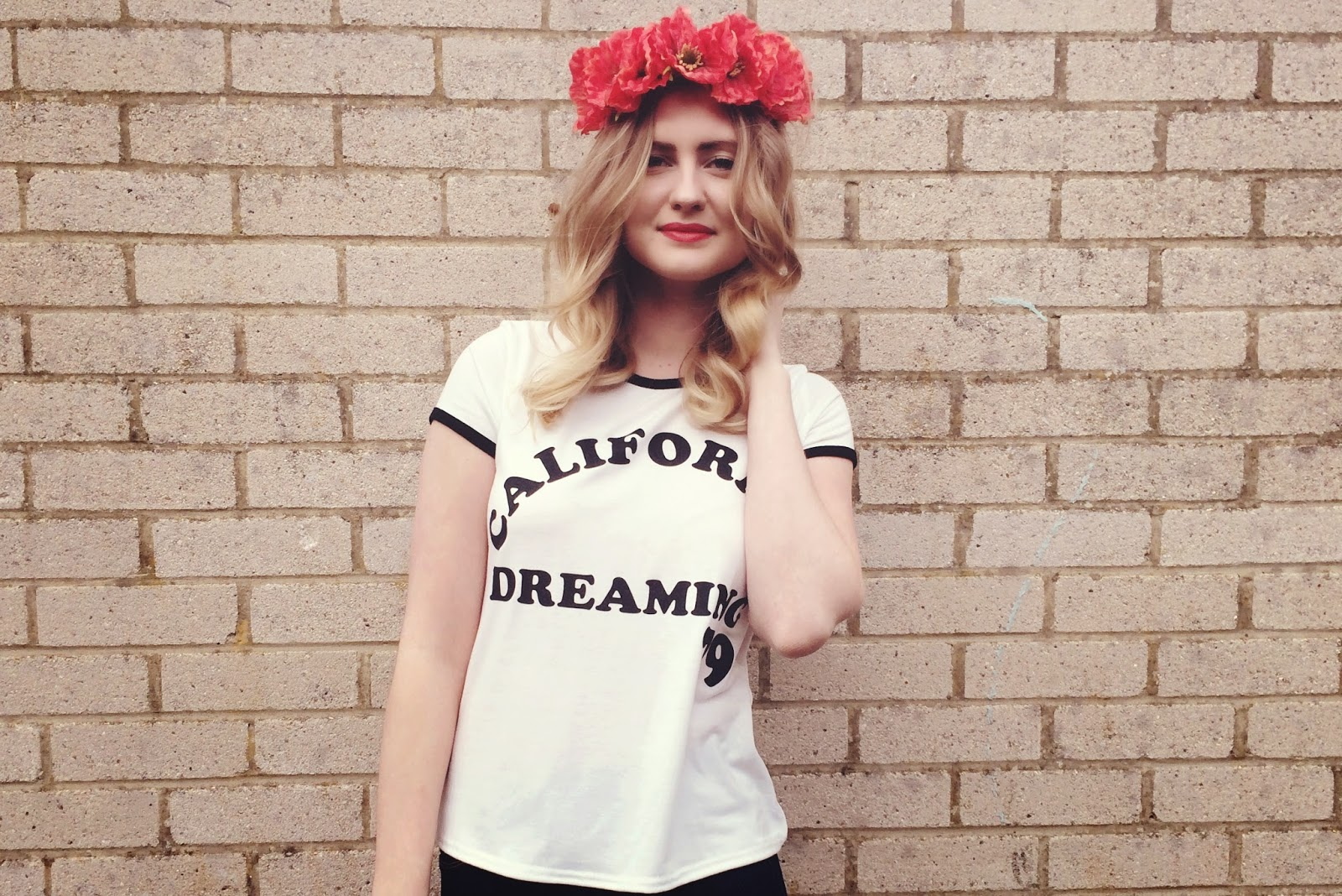 FashionFake, a UK fashion and lifestyle blog: brighten up your outfit with a bright floral head crown.