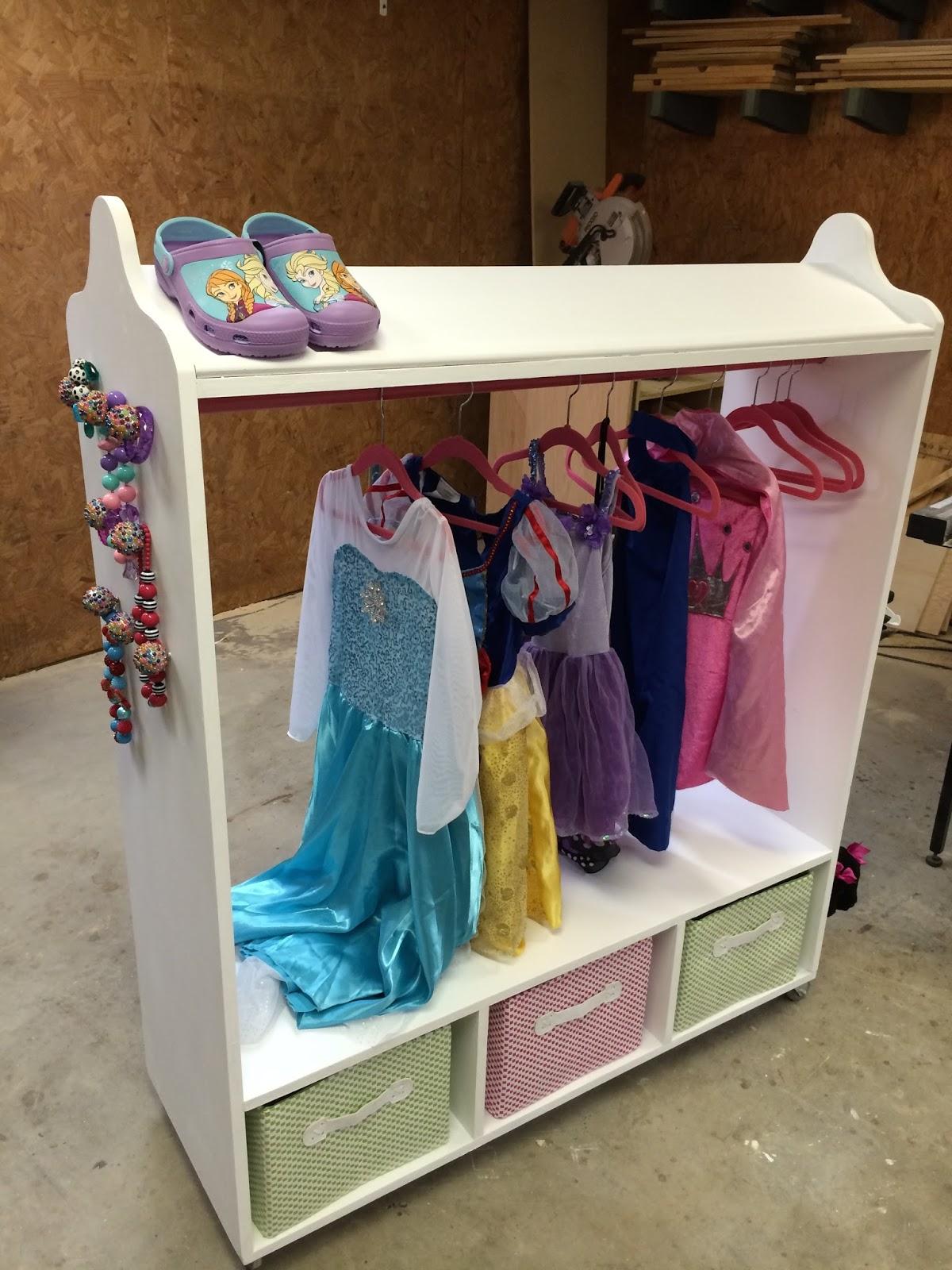 Шкаф из коробок для детской своими руками