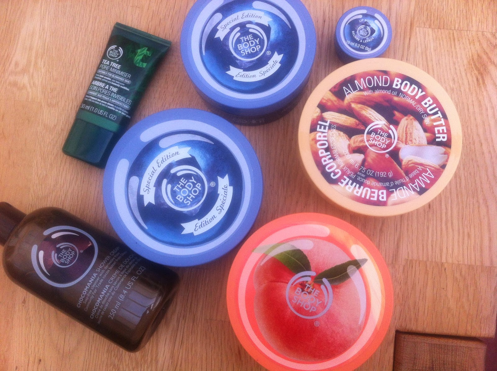 body shop sale haul