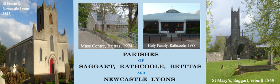 Parishes of Saggart, Rathcoole, Brittas and Newcastle Lyons