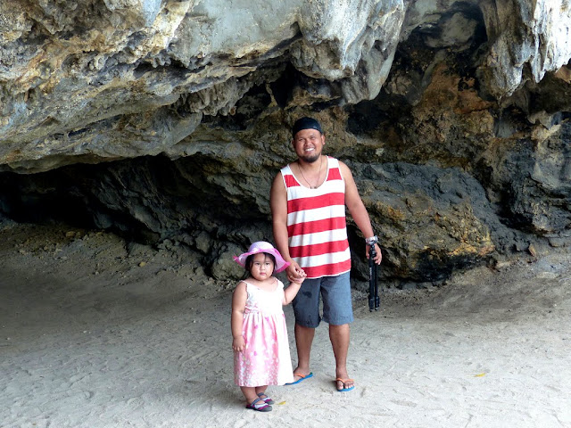 a cave at Governor's Island, Hundred Islands National Park, Alaminos, Pangasinan Philippines