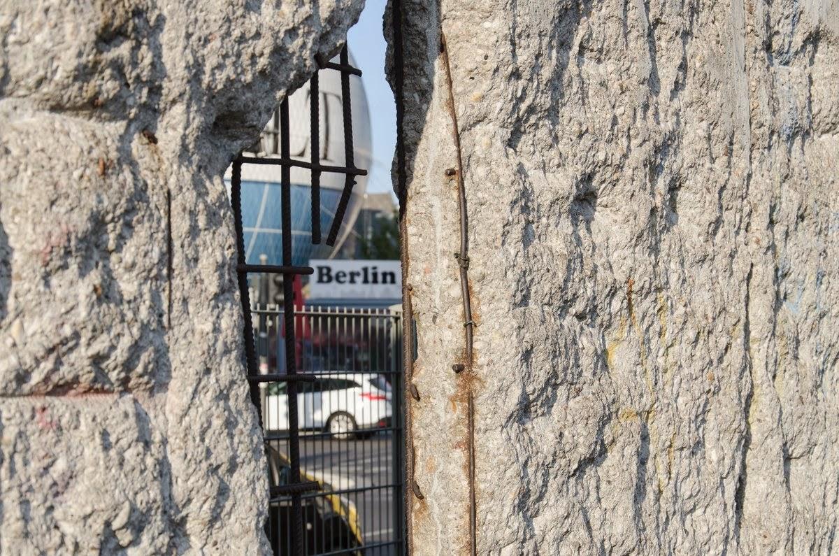 Berlin - topographie des terreurs - mur