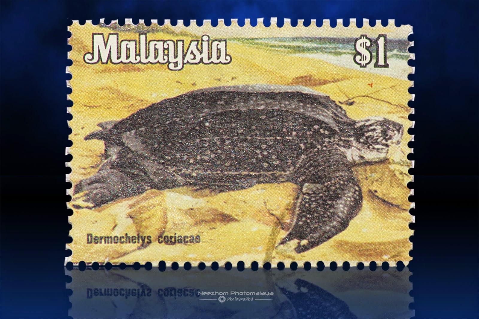 National Animals Series 1979 stamps - $1 Dermochelys Coriacae