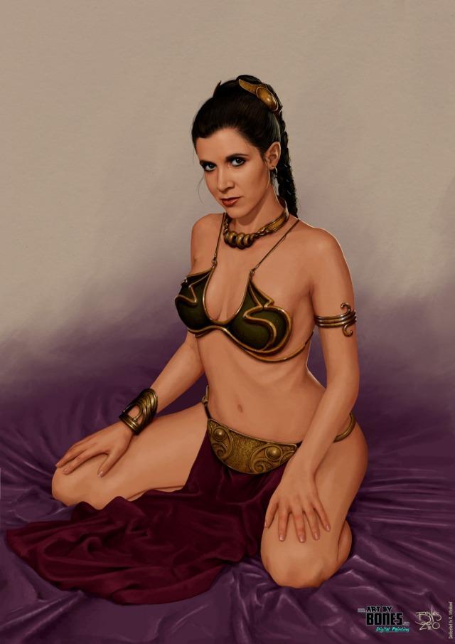 love leia bikini: