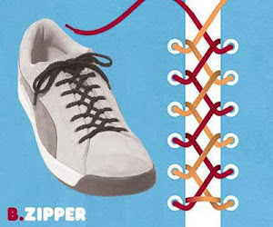 Siapa saja dapat mengikat tali sepatu walaupun asal asalan hehehe Cara Mengikat Tali Sepatu Dengan Baik & Benar