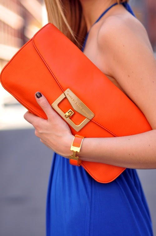 orange, marc jacobs, hermés, orange accessories, orange bags