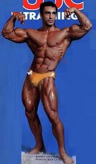 Ahmet Enünlü Bodybuilder