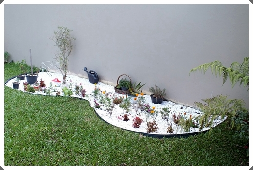 pedras de jardim branca: : Fazendo meu jardim com pedras brancas – Ideias para o seu Jardim