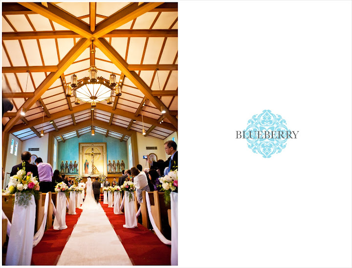 St. John Catholic Church San Lorenzo wooden beams beautiful wedding photography