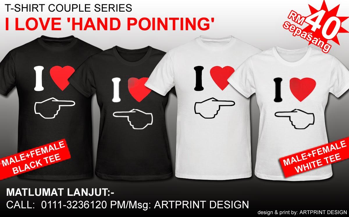 Artprint Design T Shirt Couple Series 1 Ady To Order