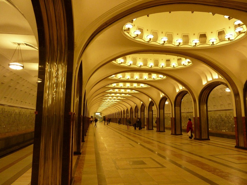 All Around Me Art And Decor Of Moscow Metro Stations