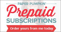 Prepaid Paper Pumpkin!