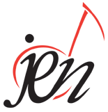 The logo of the Jazz Education Network.  JEN.