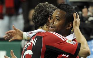أهداف مباراة ميلان واتلانتا 2-0 في الدوري الايطالي 2-5-2012