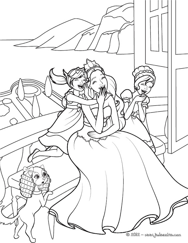 Barbie As The Island Princess Coloring Pages Coloring Island Princess Coloring Pages