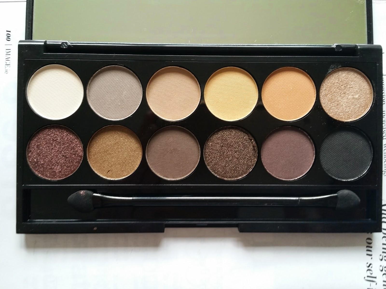 sleek i-divine au natural eyeshadow palette