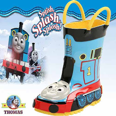 Thomas the train engine rain boots for Toddlers and children convey delightful cozy shoe environment