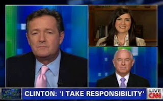 Discussion of the Benghazi scandal on Piers Morgan Tonight