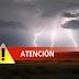ATENCION. Riesgo de tormentas fuertes (Sab 23 y Dom 24/8)
