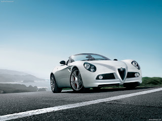 Alfa Romeo 8C Spider 2009 Wallpaper