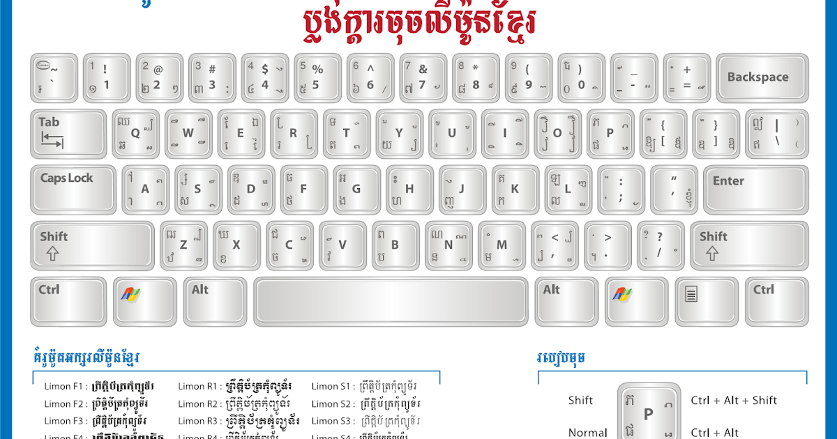 download limon khmer font