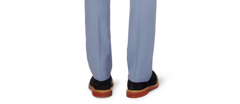 Что сделать чтобы не блестели брюки