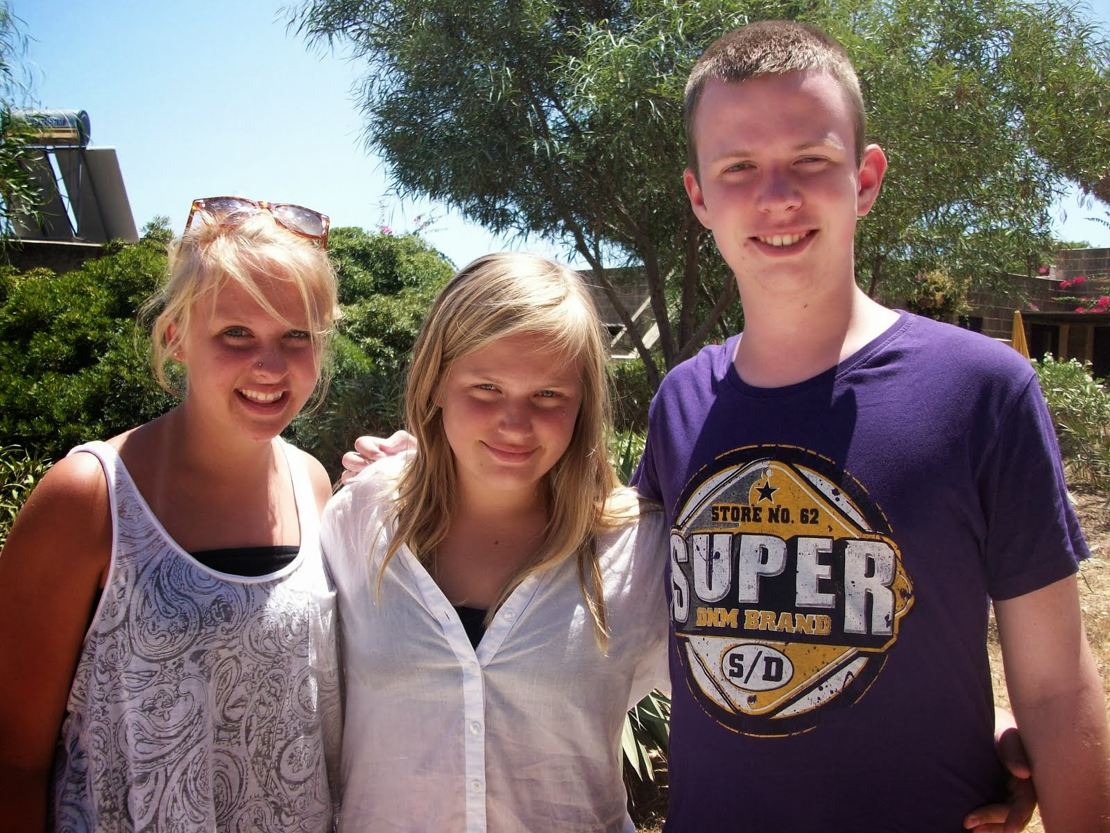 Vores tre dejlige børn