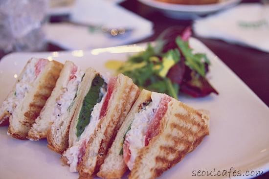 lina's sandwich coex mall seoul cafe