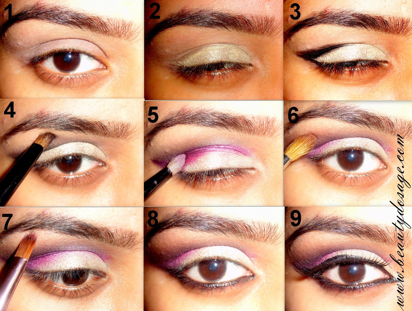 Tutorial: Arabic Bridal eye makeup Beauty Dosage