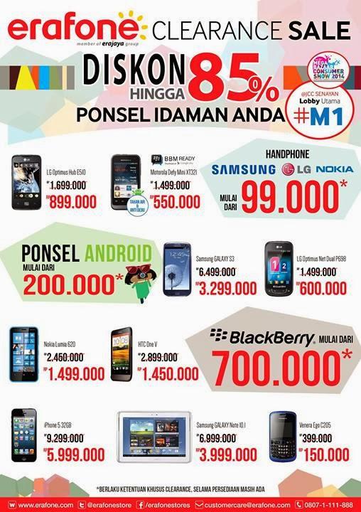 MBC 2014 Erafone Promo Nokia Lumia 620 Rp 1.499.000