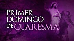 COMENTARIO DEL EVANGELIO DOMINGO 1º TIEMPO CUARESMA CICLO A (1 MARZO 2020)
