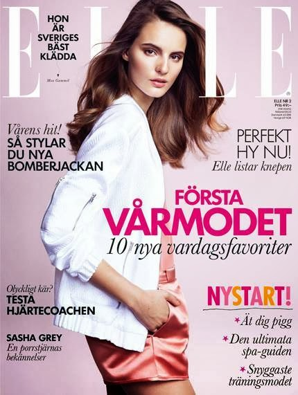 Tilda Lindstam HQ Pictures Elle Sweden Magzine Photoshoot February 2014